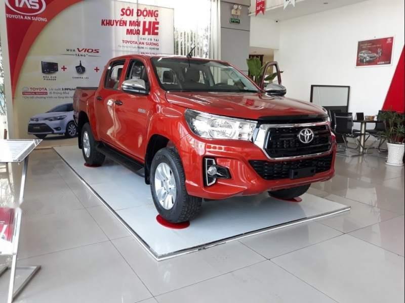 Bán Toyota Hilux 2.4 2019, màu đỏ, xe nhập-1