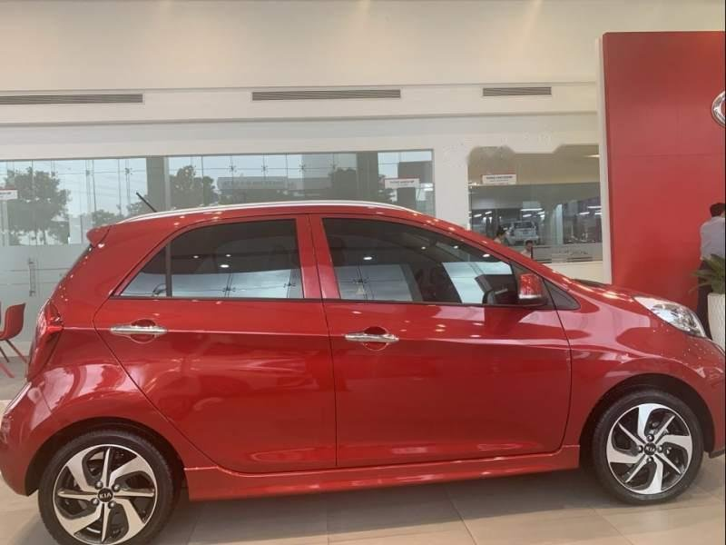 Bán xe Kia Morning 2019, màu đỏ, giá chỉ 346 triệu-4