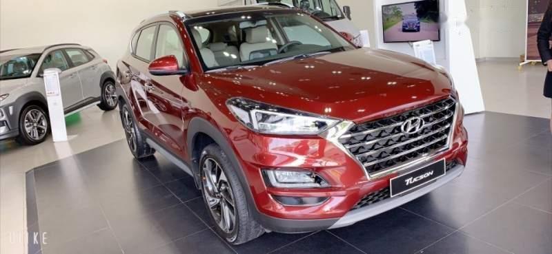 Bán Hyundai Tucson FL đời 2019, màu đỏ, nhập khẩu -1