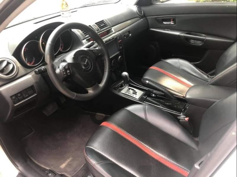 Bán Mazda 3 năm sản xuất 2009, màu trắng, nhập khẩu nguyên chiếc chính chủ, giá 380tr-1