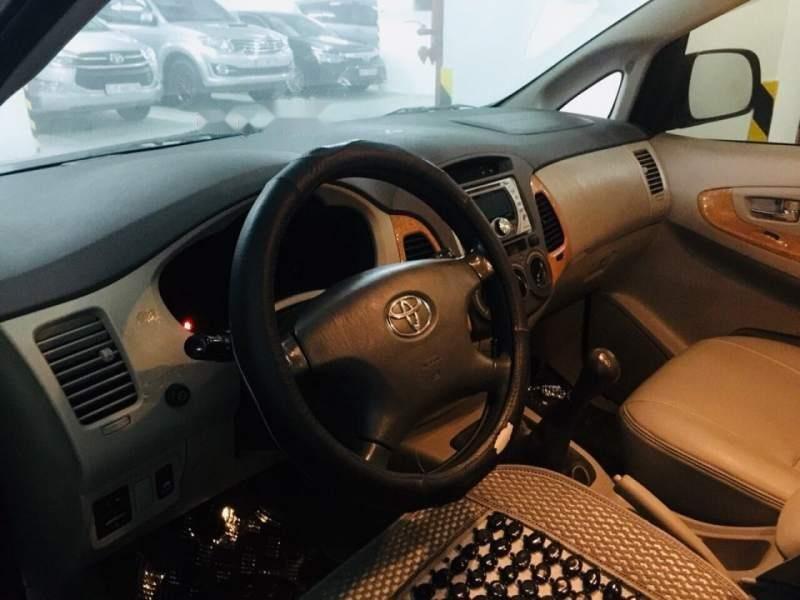 Bán gấp Toyota Innova đời 2009, màu đen xe gia đình giá cạnh tranh-0