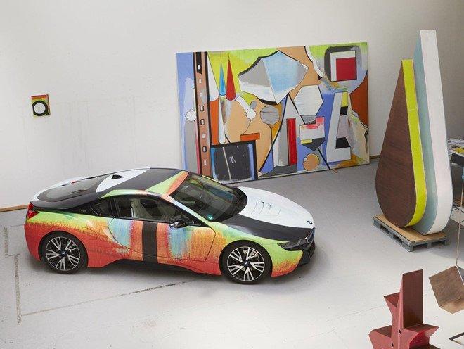 Đứng trước một kiệt tác nghệ thuật BMW i8 này, có ai không xiêu lòng? a3