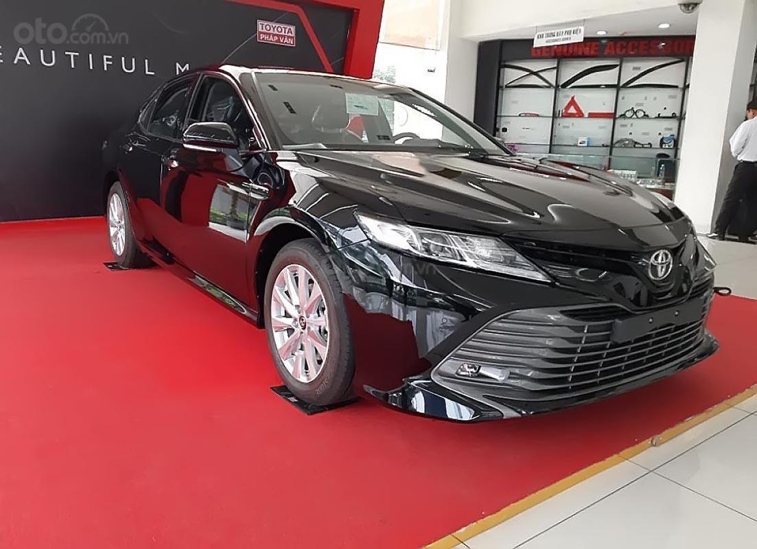 Bán Toyota Camry năm 2019, màu đen, nhập khẩu  -0
