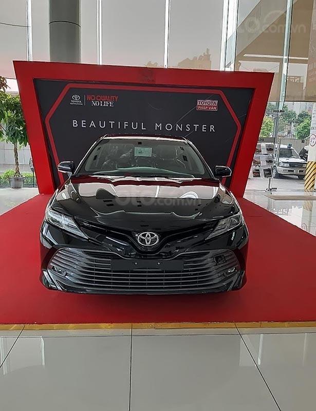 Bán Toyota Camry năm 2019, màu đen, nhập khẩu  -3