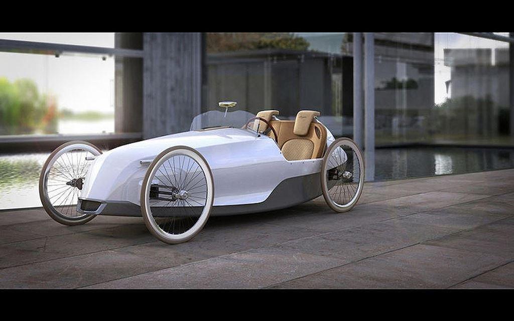 Động cơ ô tô được chế tạo từ dây cao su