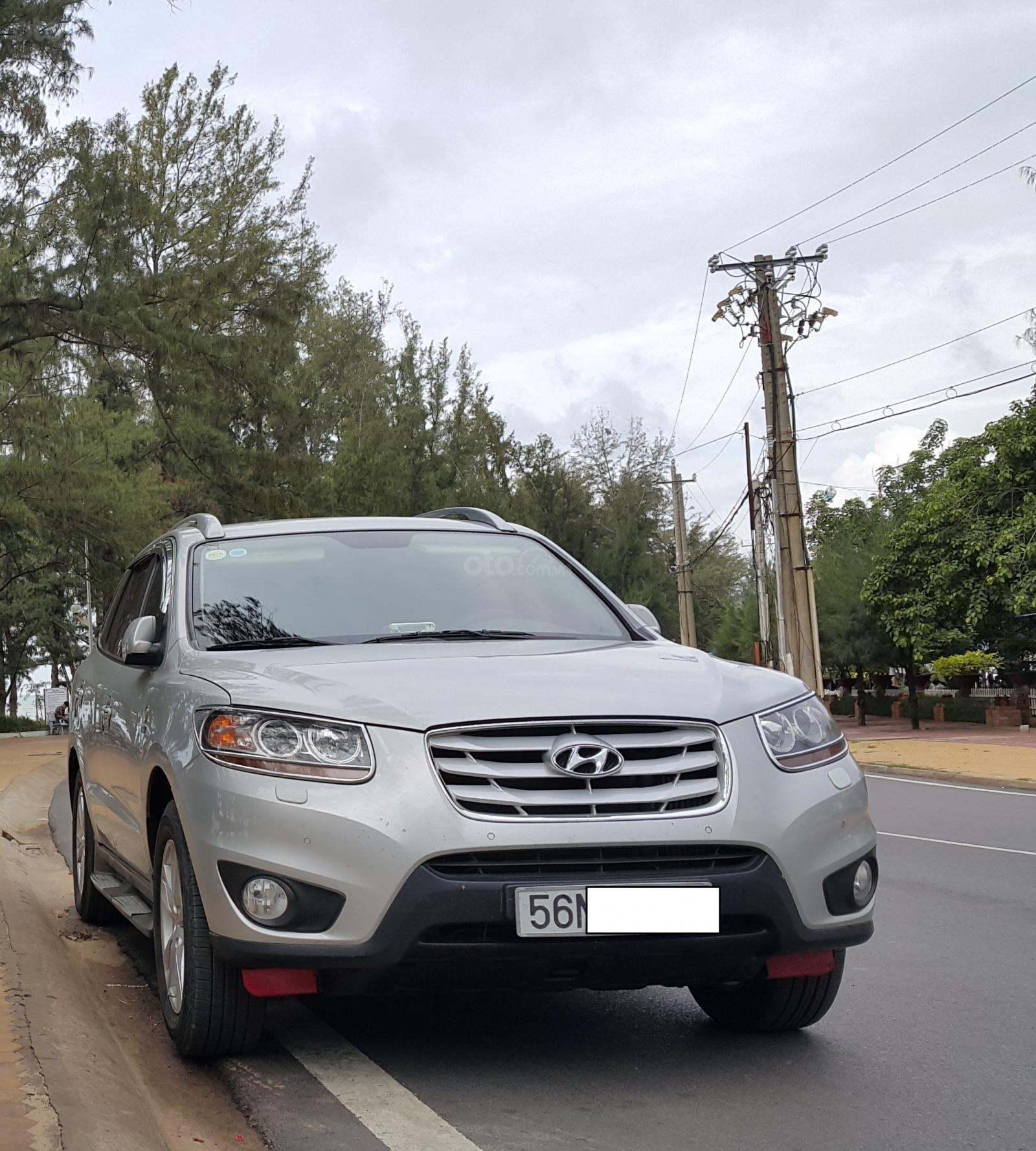 Bán Hyundai Santa Fe SLX 2010 full option 2.0, dầu, màu bạc, nhập khẩu, giá thương lượng (1)