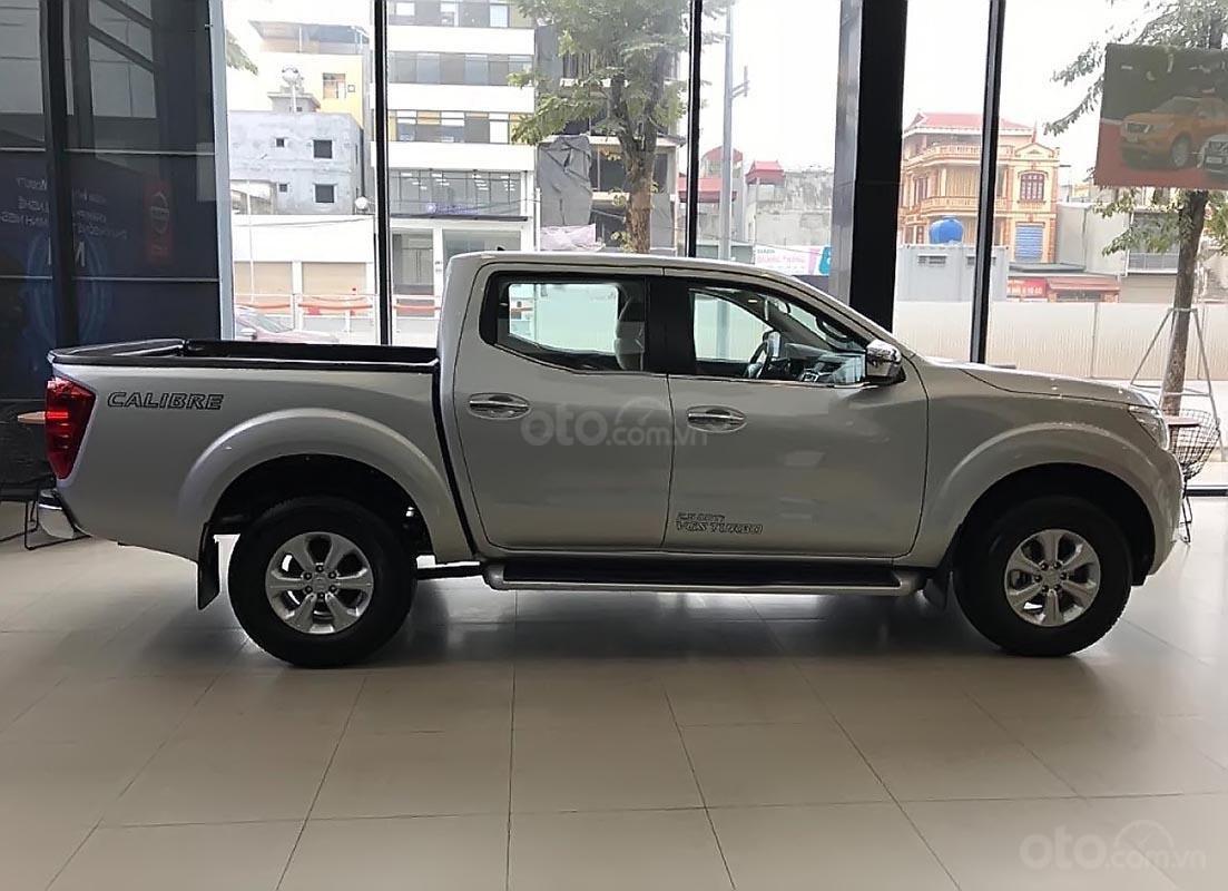 Bán Nissan Navara EL năm sản xuất 2018, màu bạc, nhập khẩu -0