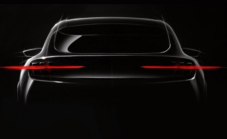Đuôi Xe điện Ford Mach E Concept