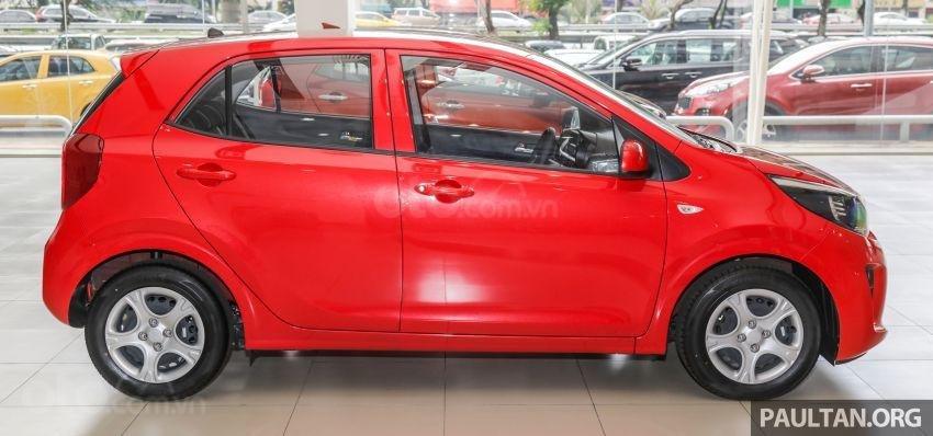 Kia Morning 2019 ra mắt biến thể giá rẻ tại Malaysia