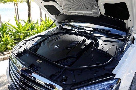 """""""Trái tim"""" của Mercedes-Maybach S560 2019 là khối động cơ xăng 4.0L, V8 a1"""