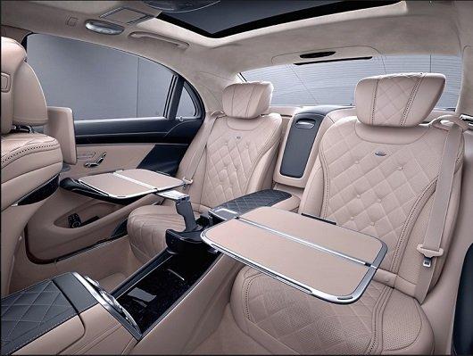 Đánh giá xe Mercedes-Maybach S560 2019: Thiết kế hàng ghế sau 1