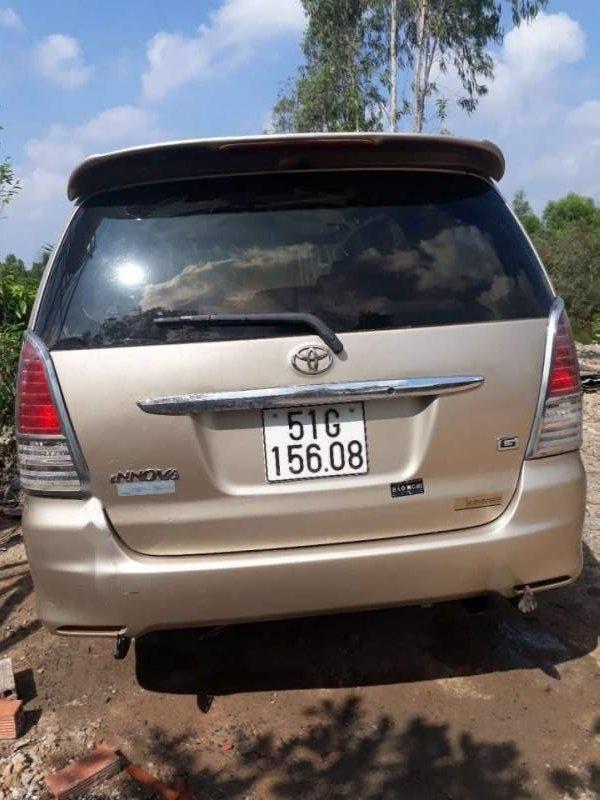 Bán ô tô Toyota Innova J lên G sản xuất năm 2008, màu vàng cát-0
