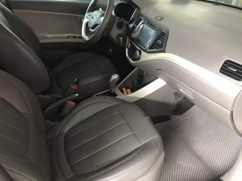 Bán lại xe Kia Morning SI 1.25 AT đời 2016, màu kem (be), 445tr-2