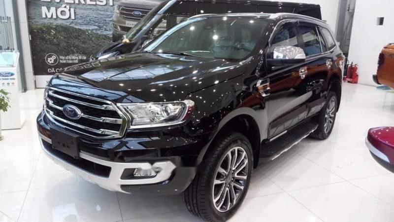 Bán Ford Everest năm 2019, màu đen, nhập khẩu giá cạnh tranh-0