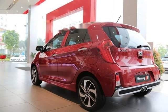 Bán xe Kia Morning đời 2019, màu đỏ, giá tốt (2)