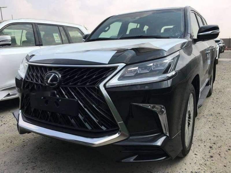 Bán Lexus LX 570 sản xuất 2018, màu đen, nhập khẩu nguyên chiếc-0
