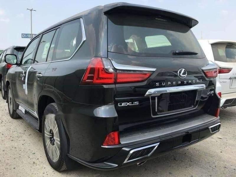 Bán Lexus LX 570 sản xuất 2018, màu đen, nhập khẩu nguyên chiếc-1