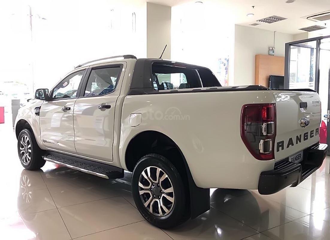 Cần bán xe Ford Ranger Wildtrak 2.0L 4x4 AT năm sản xuất 2019, màu trắng, nhập khẩu-1