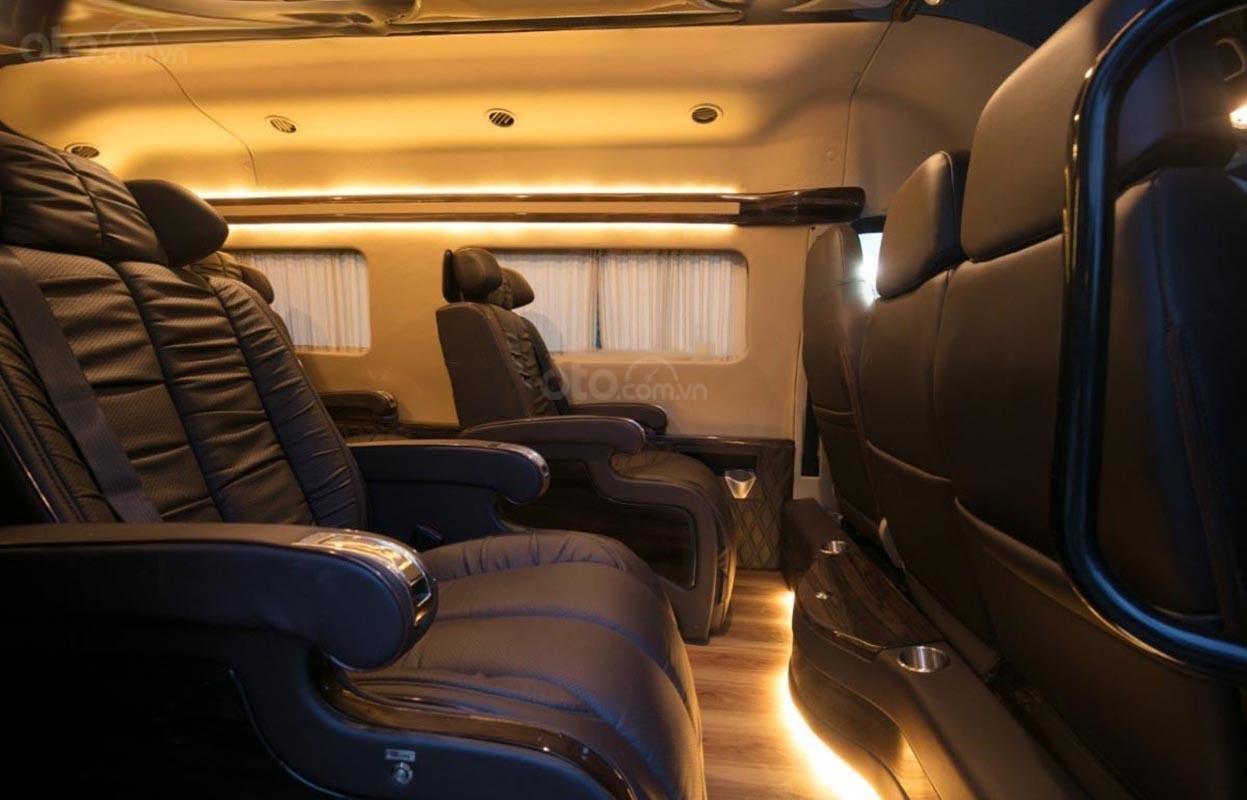 Bán ô tô Ford Transit Limousine đời 2019, màu đen (2)