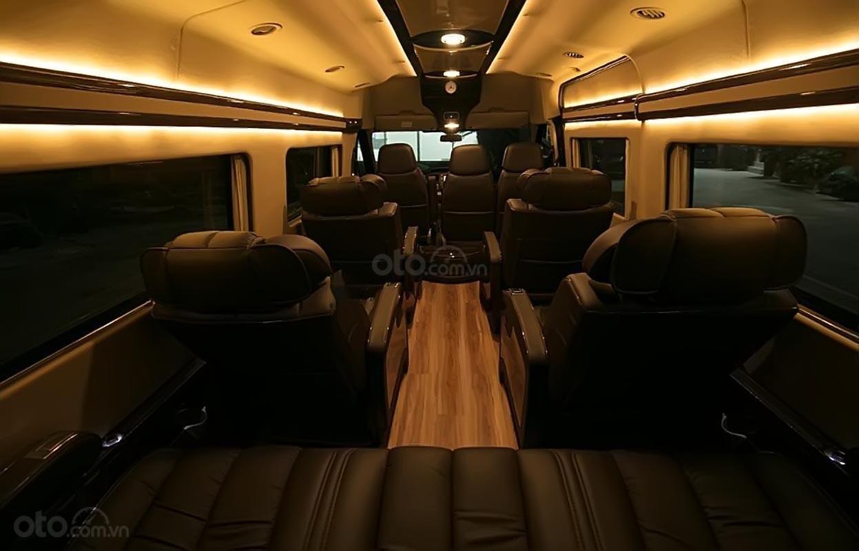 Bán ô tô Ford Transit Limousine đời 2019, màu đen (3)