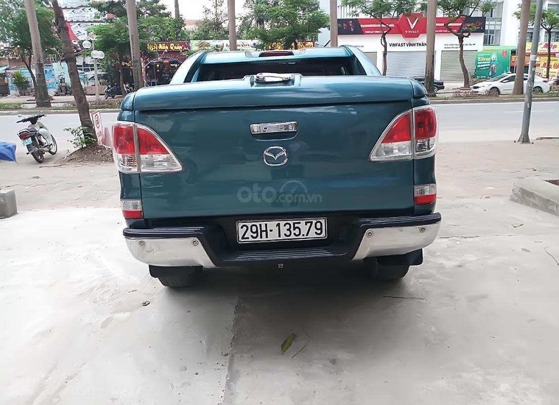 Bán Mazda BT 50 3.2 sản xuất năm 2014, màu xanh lam, nhập khẩu Thái, giá tốt-1