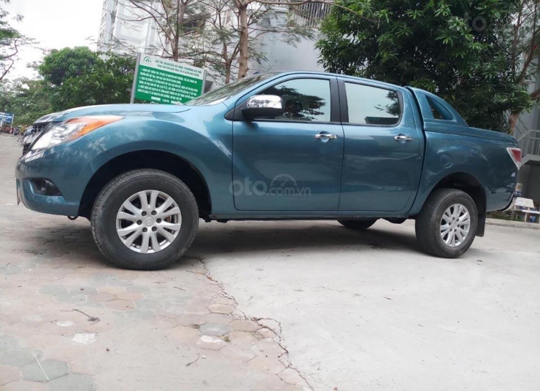Bán Mazda BT 50 3.2 sản xuất năm 2014, màu xanh lam, nhập khẩu Thái, giá tốt-4