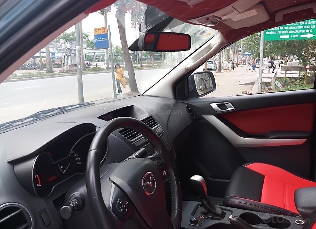Bán Mazda BT 50 3.2 sản xuất năm 2014, màu xanh lam, nhập khẩu Thái, giá tốt-2