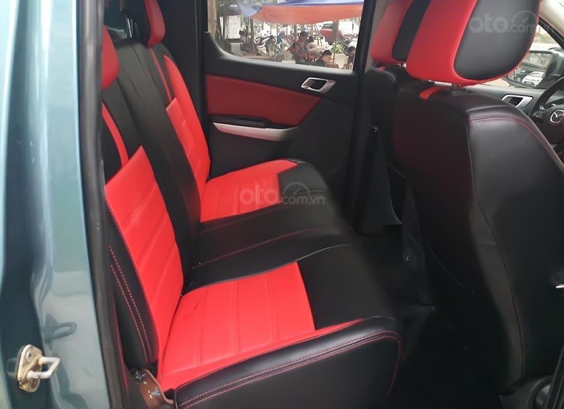 Bán Mazda BT 50 3.2 sản xuất năm 2014, màu xanh lam, nhập khẩu Thái, giá tốt-3