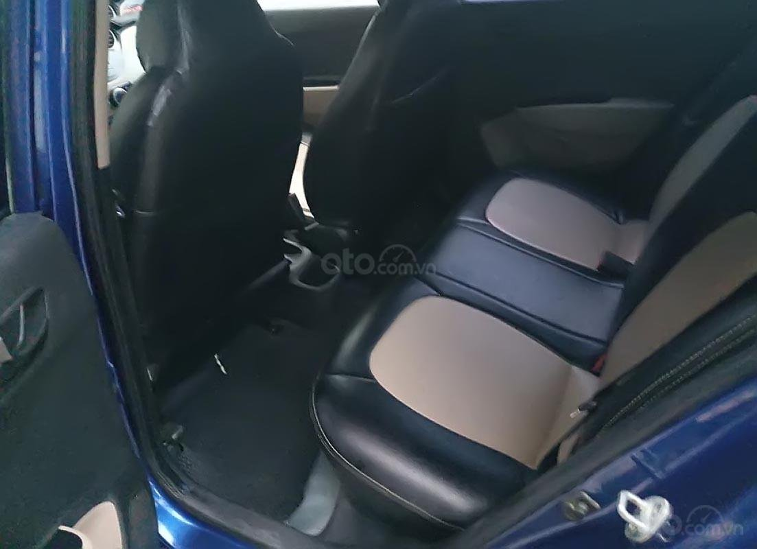 Xe Hyundai Grand i10 1.0 MT Base đời 2014, màu xanh lam, nhập khẩu, xe biển tỉnh-3
