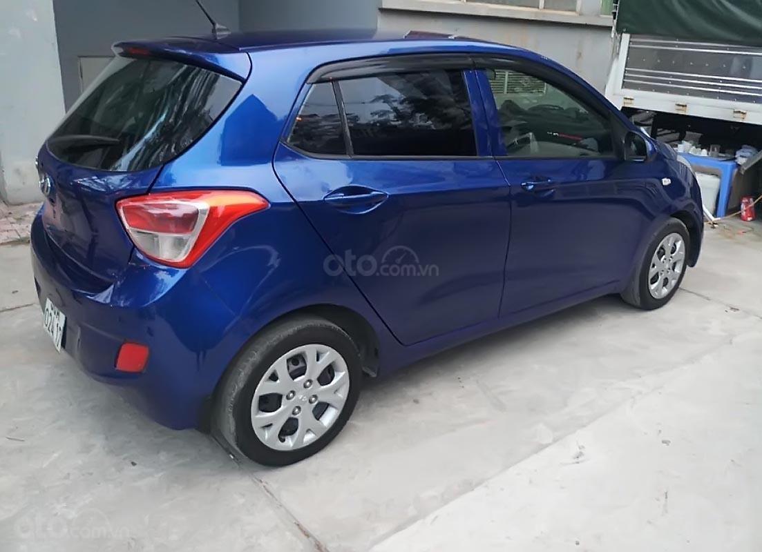 Xe Hyundai Grand i10 1.0 MT Base đời 2014, màu xanh lam, nhập khẩu, xe biển tỉnh-4