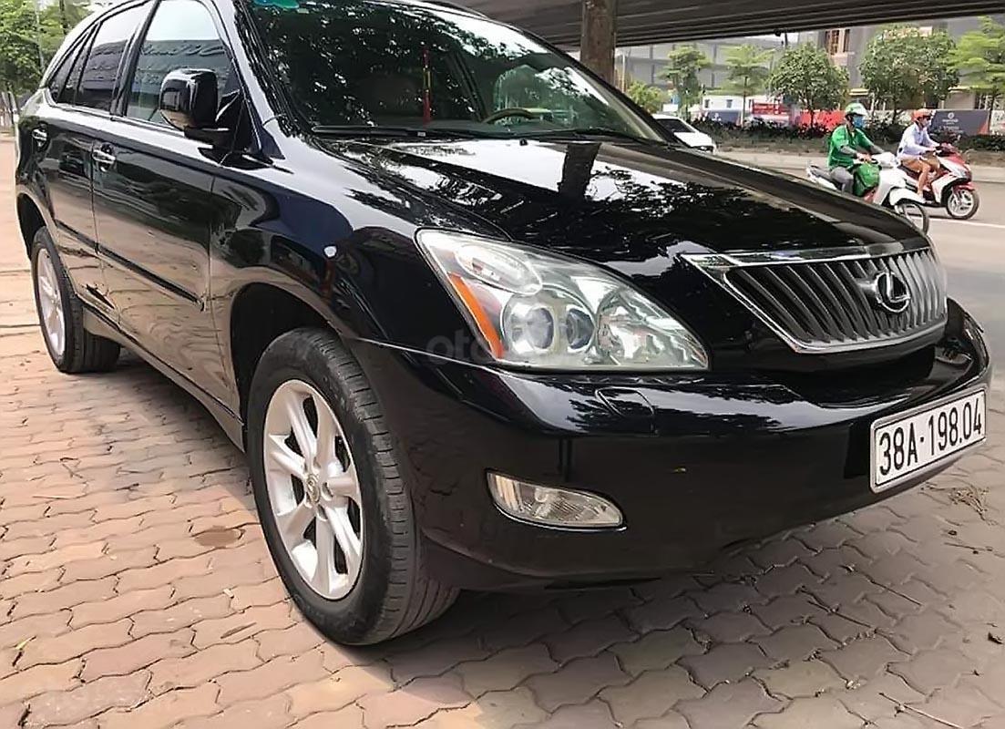 Cần bán gấp Lexus RX 350 đời 2007, màu đen, nhập khẩu -0
