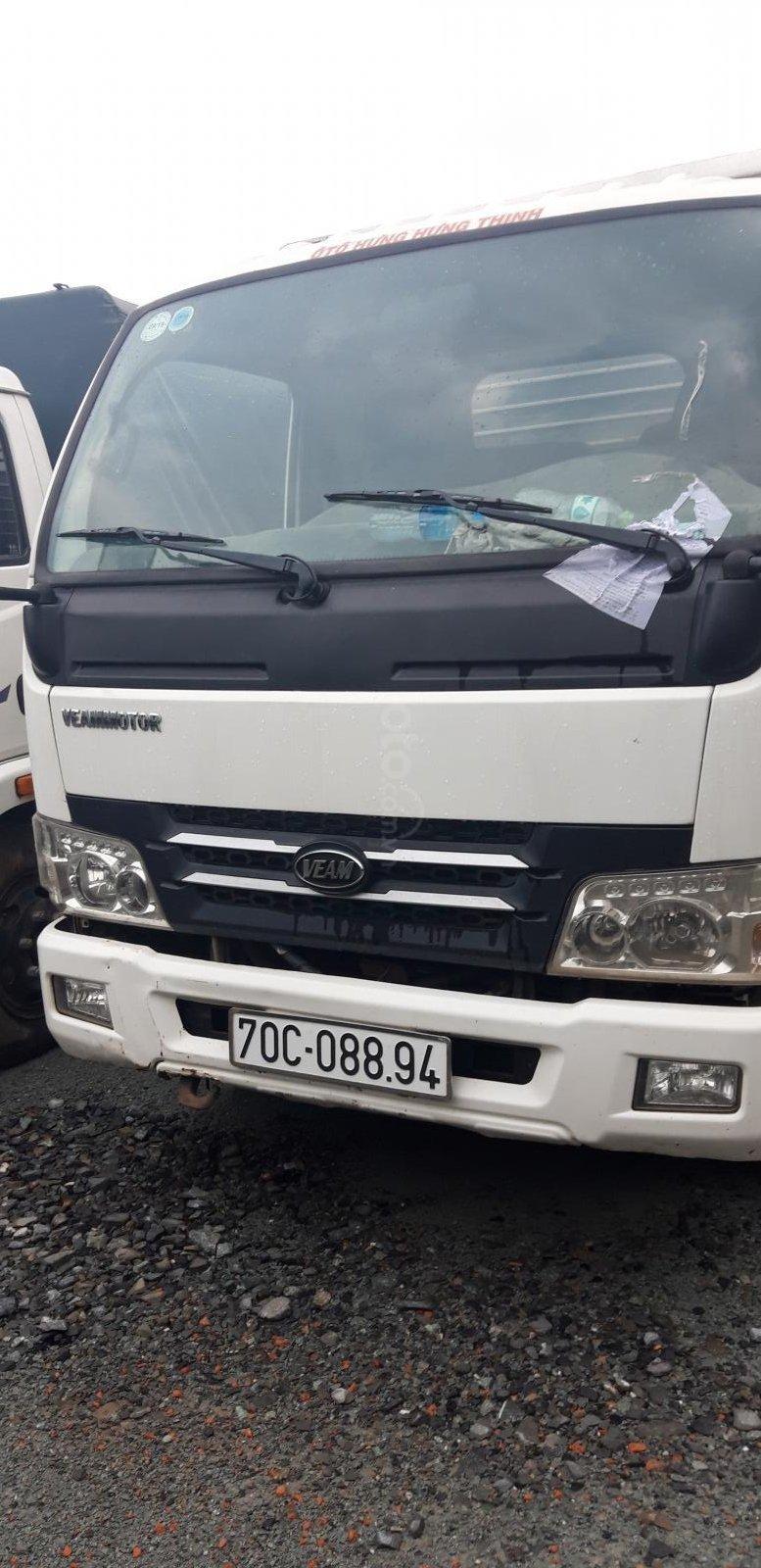 Ngân hàng VPB thanh lý xe ô tô tải thùng kín Veam VT200A-0