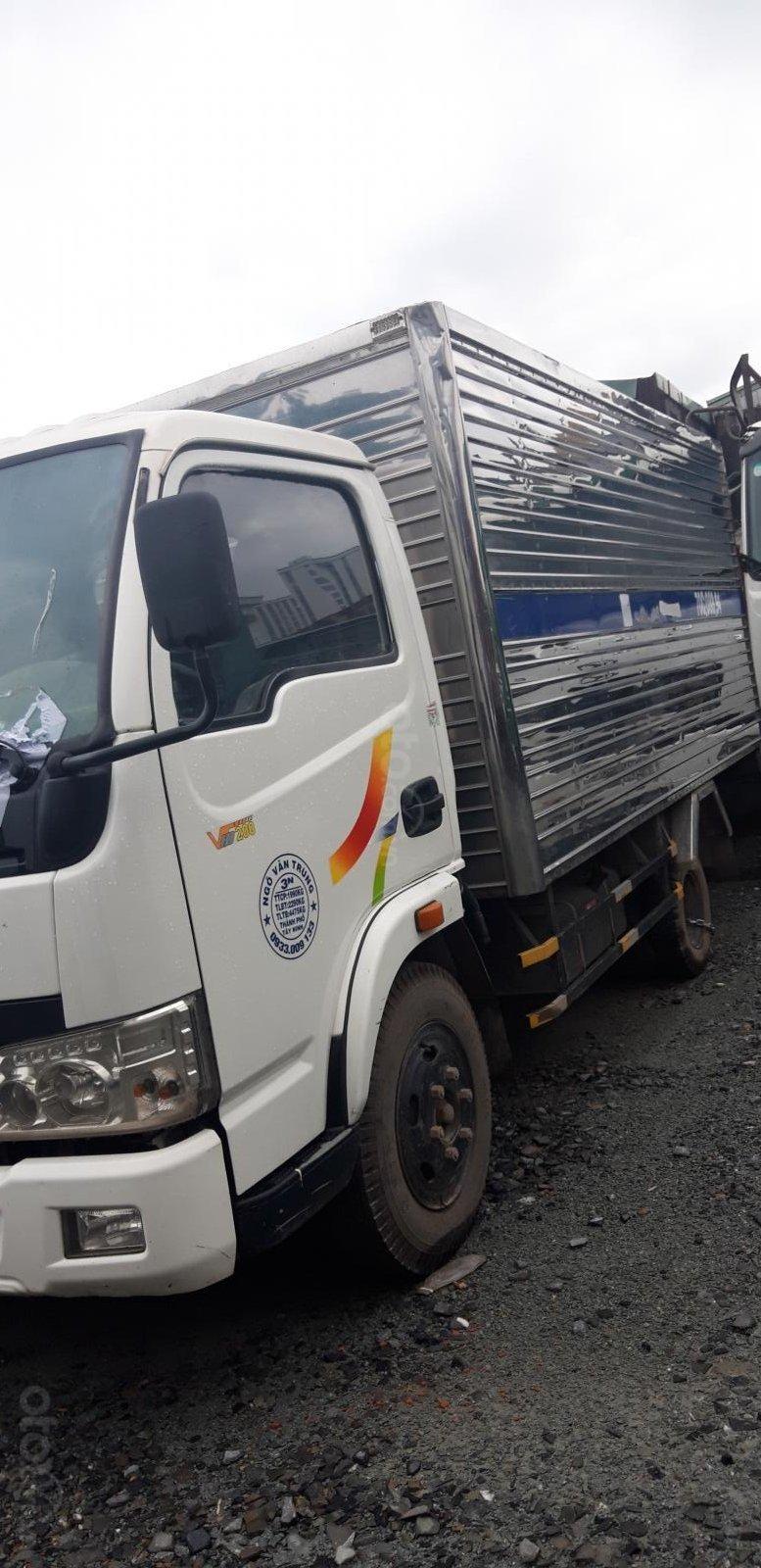 Ngân hàng VPB thanh lý xe ô tô tải thùng kín Veam VT200A-1