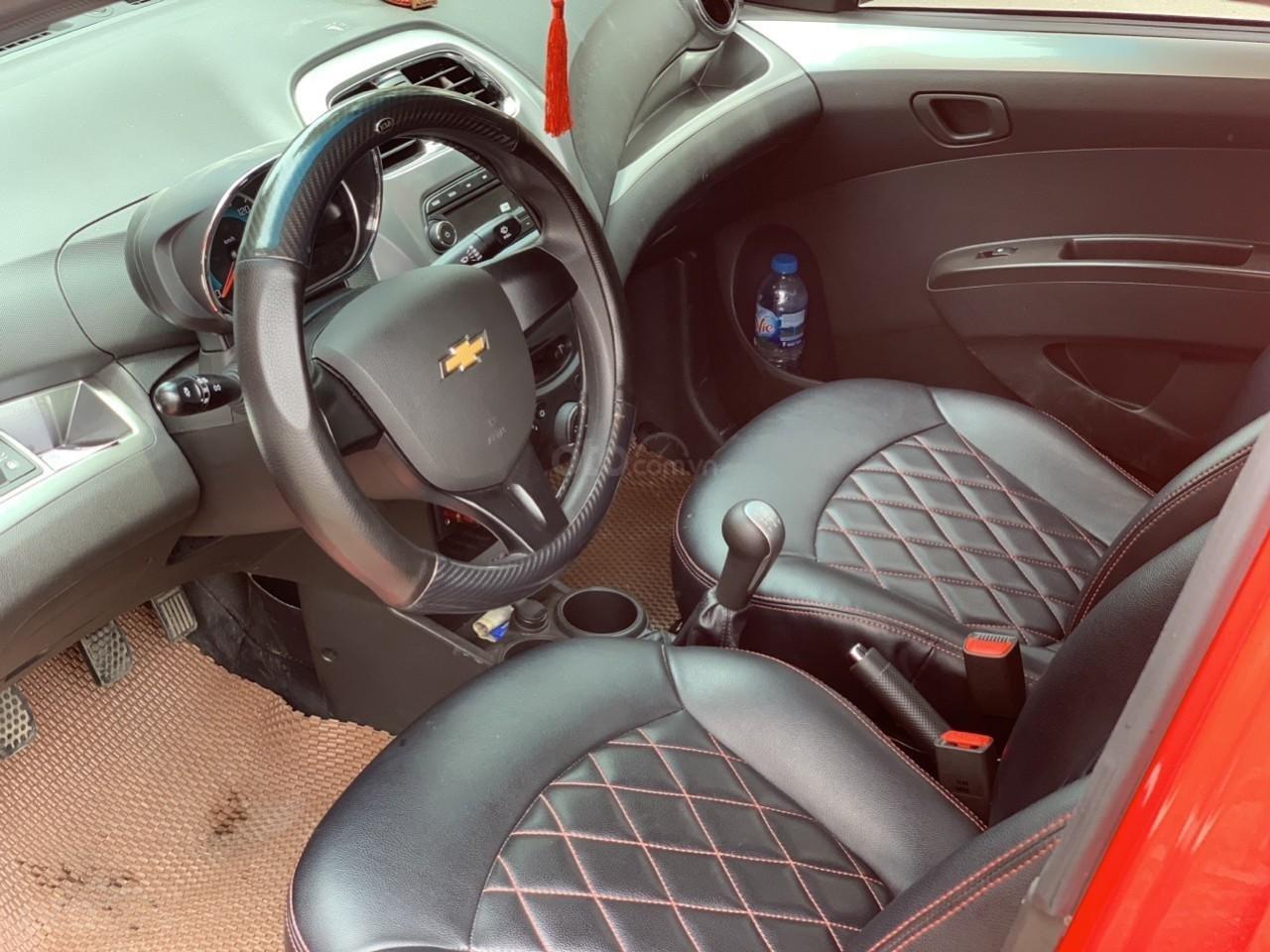 Bán Chevrolet Spark Van đời 2018, màu đỏ, giá chỉ 230 triệu-3