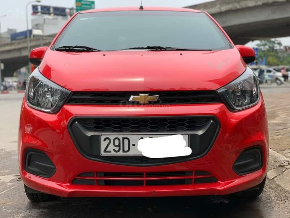 Bán Chevrolet Spark Van đời 2018, màu đỏ, giá chỉ 230 triệu-0