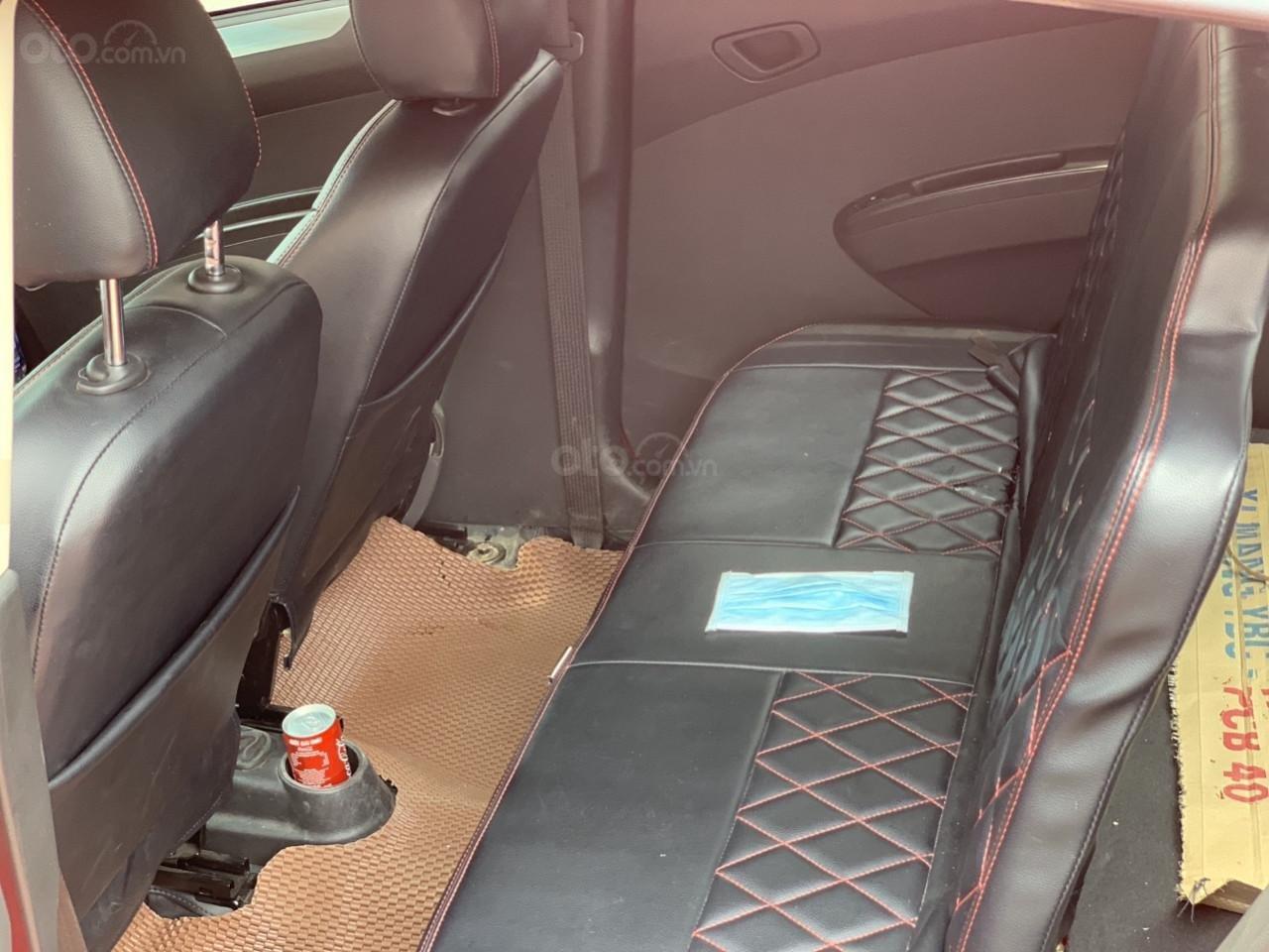 Bán Chevrolet Spark Van đời 2018, màu đỏ, giá chỉ 230 triệu-4