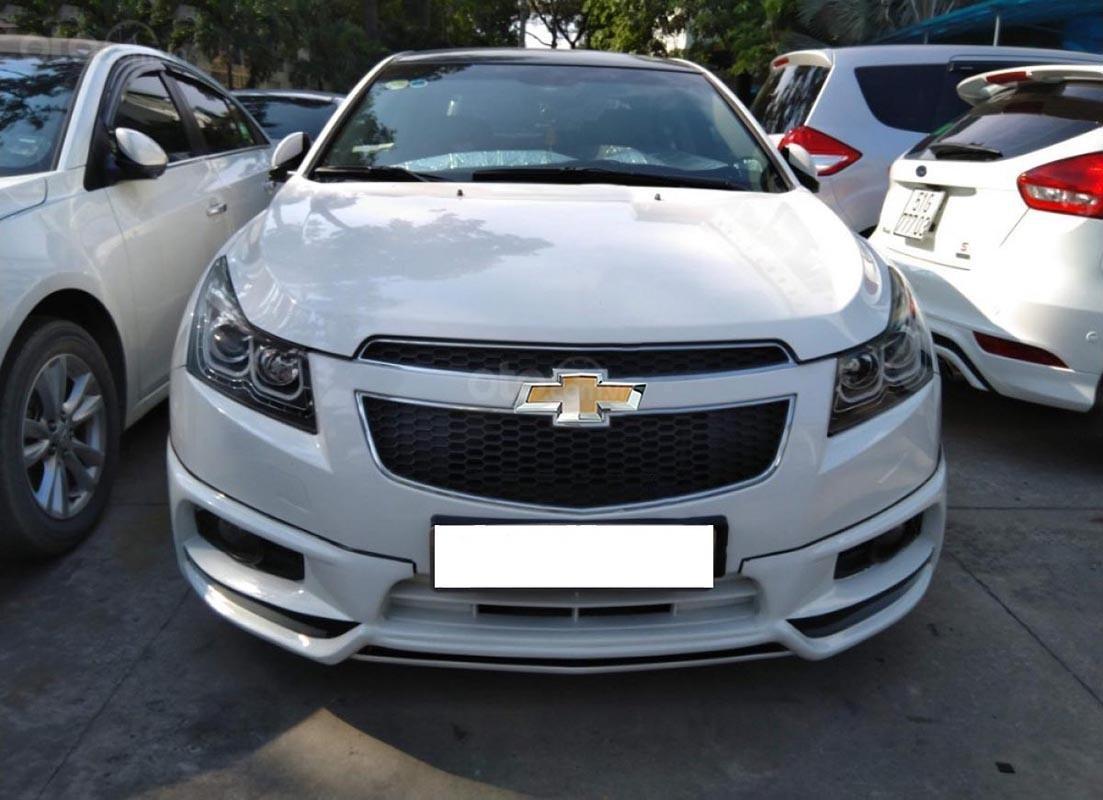 Cần bán lại xe Chevrolet Cruze LS 1.6 MT đời 2015, màu trắng -0