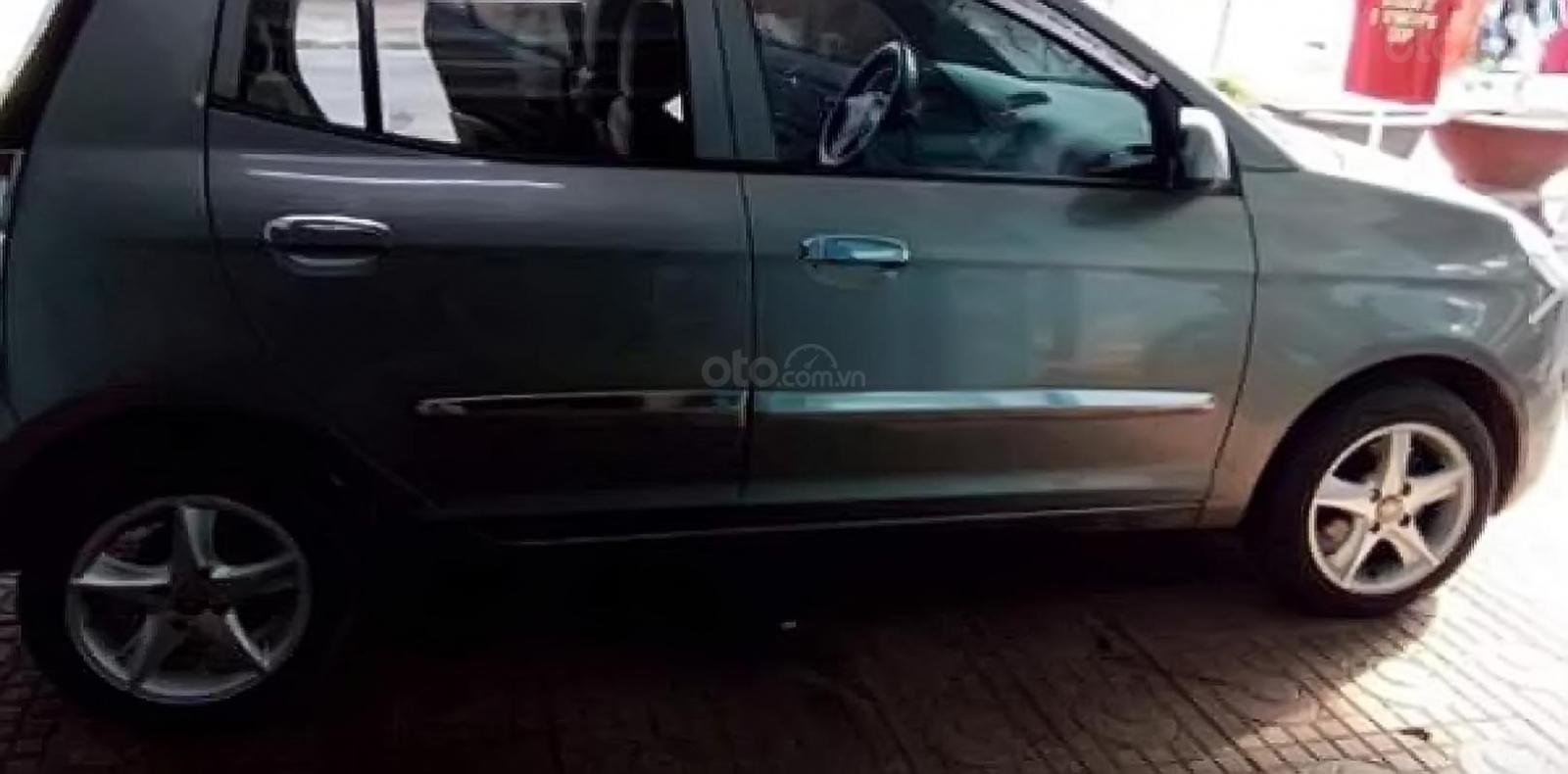 Cần bán xe Kia Morning LX 1.1 MT đời 2012, màu xám -0