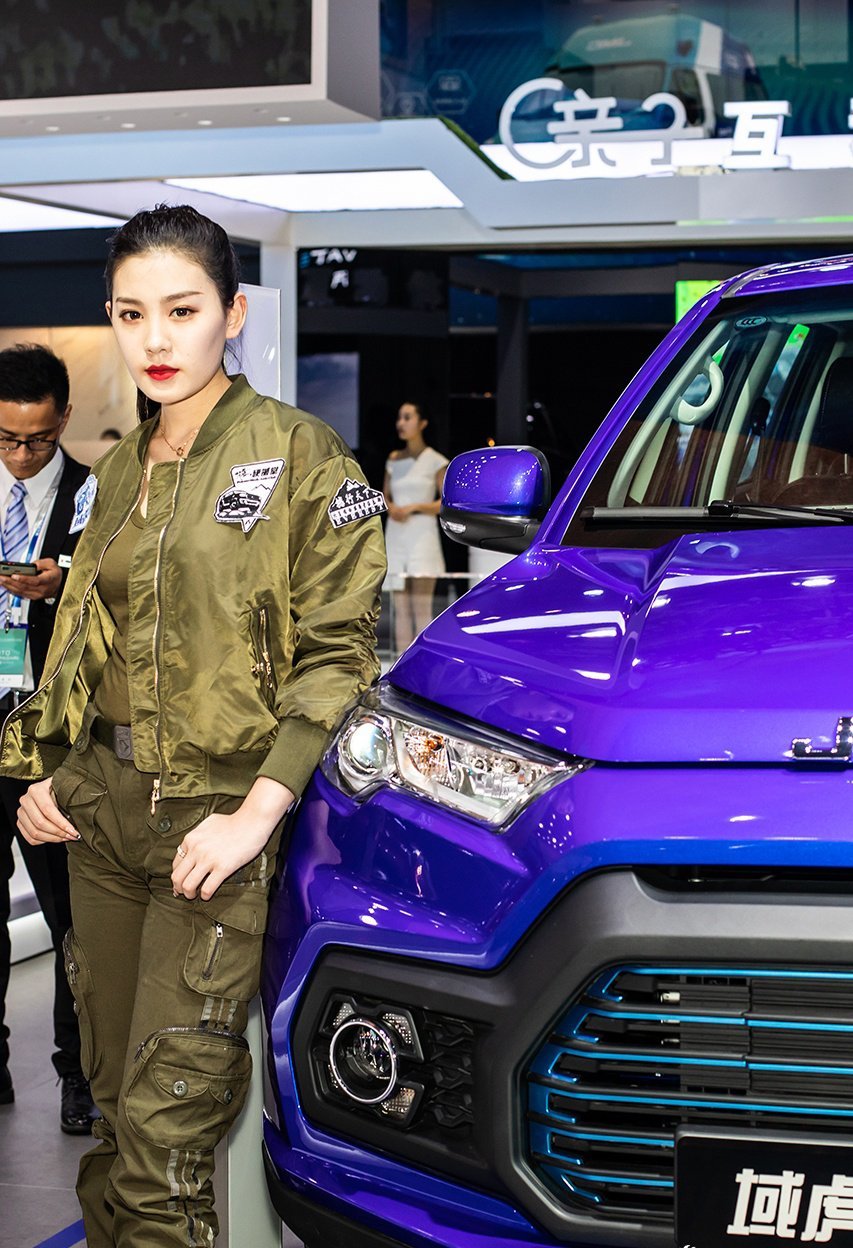 Ngắm người đẹp và xe tại triển lãm ô tô Thượng Hải 2019 - Ảnh a7