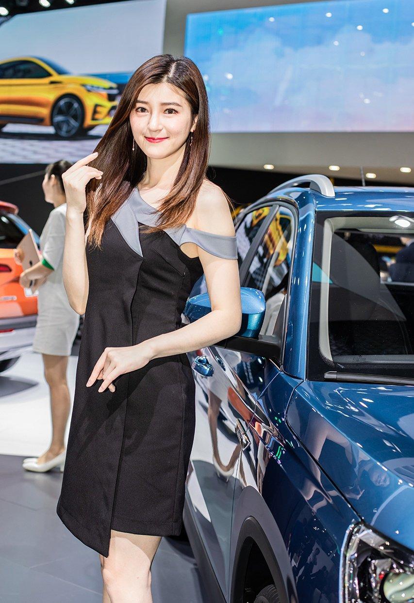 Ngắm người đẹp và xe tại triển lãm ô tô Thượng Hải 2019 - Ảnh a5