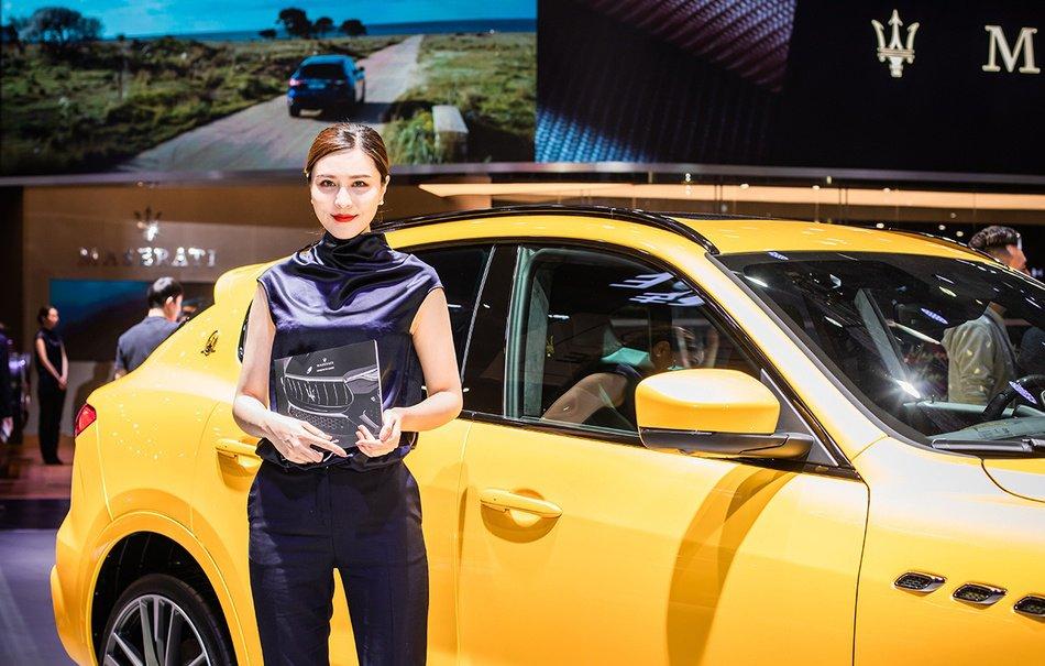 Ngắm người đẹp và xe tại triển lãm ô tô Thượng Hải 2019 - Ảnh a1