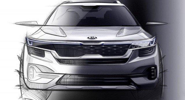 Kia úp mở về mẫu SUV cỡ nhỏ mới bằng loạt ảnh nội thất a3