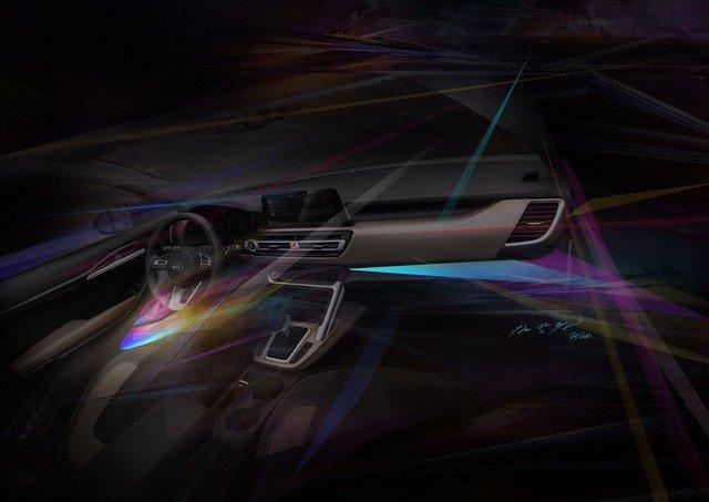 Kia úp mở về mẫu SUV cỡ nhỏ mới bằng loạt ảnh nội thất a6