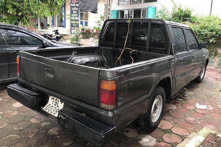 Chiếc Mazda B2200 chỉ còn 35 triệu đồng sau 22 năm sử dụng a2