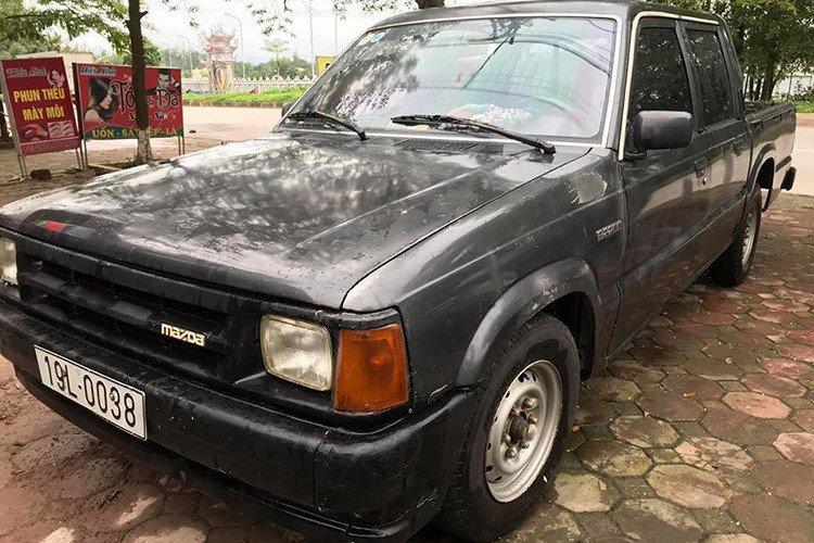 Chiếc Mazda B2200 chỉ còn 35 triệu đồng sau 22 năm sử dụng 1