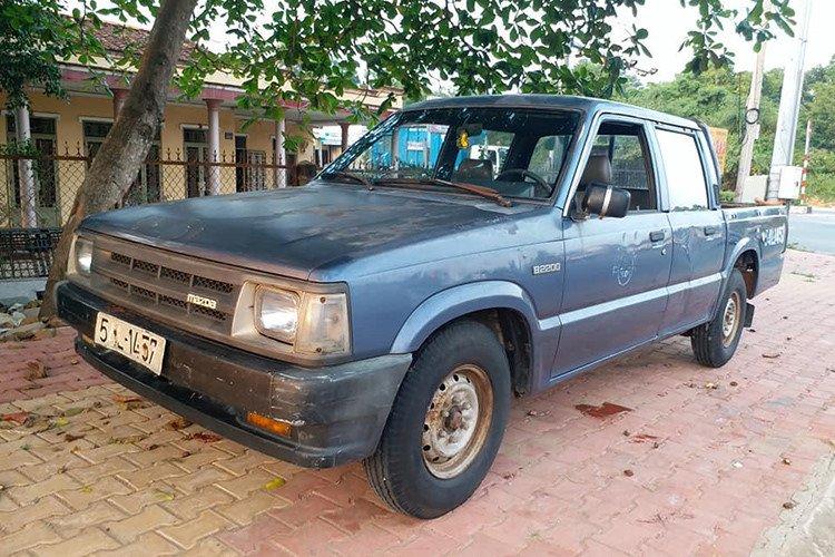 Chiếc Mazda B2200 chỉ còn 35 triệu đồng sau 22 năm sử dụng a9