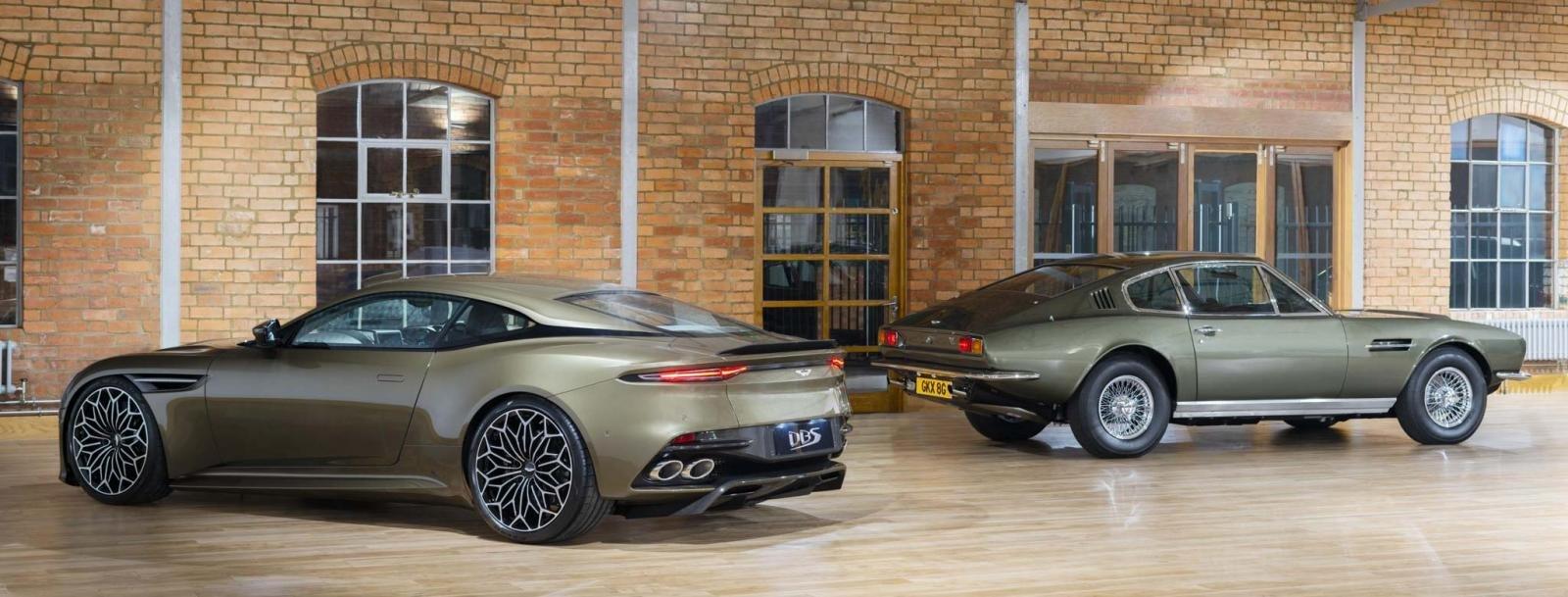 Aston Martin DBS Superleggera ''OHMSS 007 Edition'': Siêu xe lấy cảm hứng từ phim điệp viên 007 a2