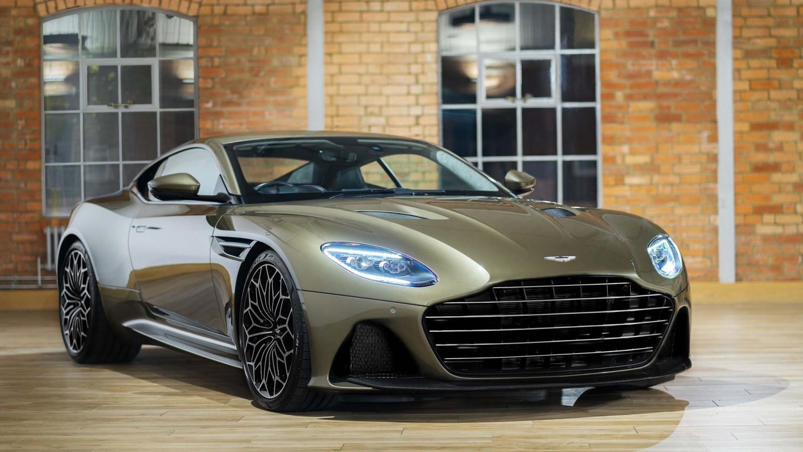 Aston Martin DBS Superleggera ''OHMSS 007 Edition'': Siêu xe lấy cảm hứng từ phim điệp viên 007 a1