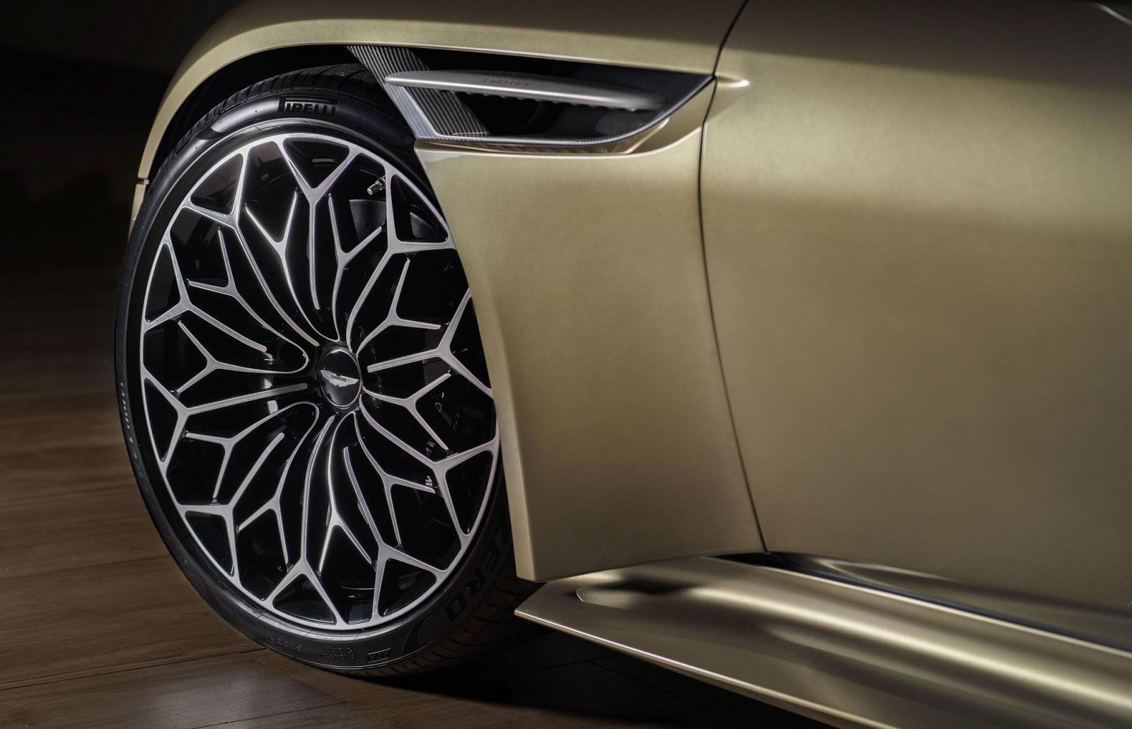 Aston Martin DBS Superleggera ''OHMSS 007 Edition'': Siêu xe lấy cảm hứng từ phim điệp viên 007 a13