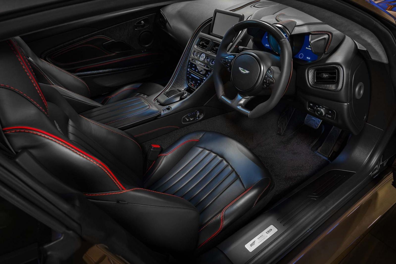 Aston Martin DBS Superleggera ''OHMSS 007 Edition'': Siêu xe lấy cảm hứng từ phim điệp viên 007 a5